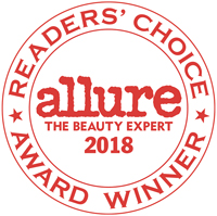 Allure The Beauty Expert 2018 Readers' Choice Award Winner